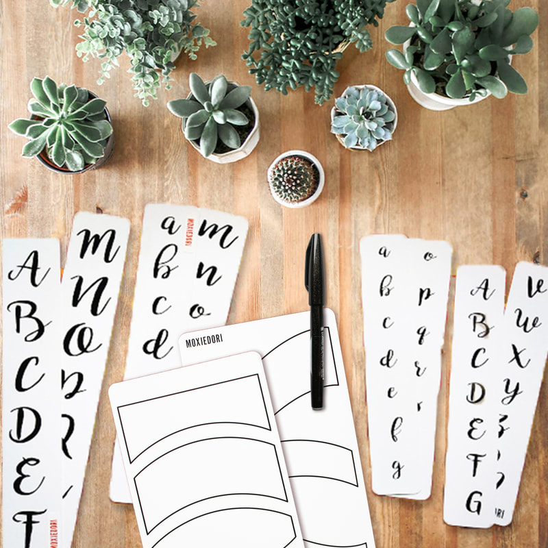 brush lettering kit