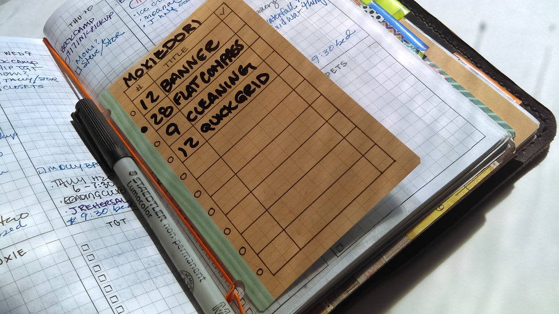 DIY Bullet Journal Dashboard