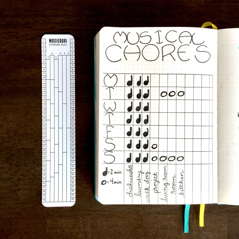 Kids Chore Bullet Journal Tracker