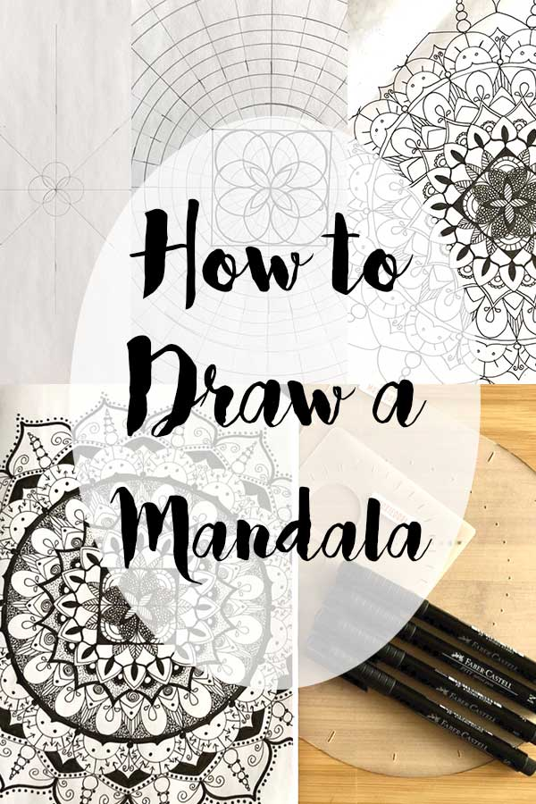 How To Draw A Mandala MoxieDori